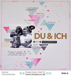 """Layout mit dem #dpOktoberkit15 von Ulrike für www.danipeuss.de I #danipeuss #dpOktoberkit15 #klartextstempel """"Beweisfoto"""""""