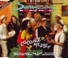Saragossa Band - Coconut Medley GER 1993 Maxi mint