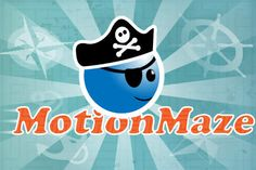 If you are looking to get your child a bit healthier, look no further than the mobile device for some help.In MotionMaze, kids have to solve mazes, but to do so, they must stay in motion.
