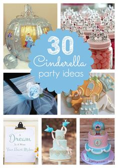 30 Cinderella Party Ideas - Pretty My Party