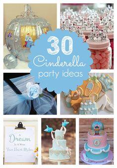 30 Cinderella Party Ideas - Pretty My Party