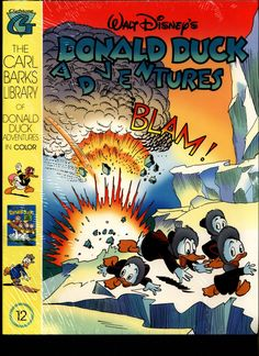 SEALED Walt Disney's Donald Duck Adventures The CARL BARKS Library of Donald Duck Adventures in Color #12 N M With Card