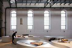 Exposição da Trienal de Arquitectura de Lisboa no Museu da Electricidade, Lisboa, Portugal | Flickr - Photo Sharing!