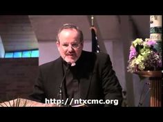 Father Bill Casey Inspired The Men At The North Texas Catholic Men's Con...