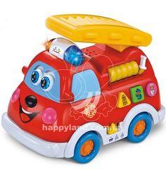 Развивающая игрушка Huile Toys Пожарная машина (526)