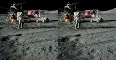 Space Stereos, moon landing