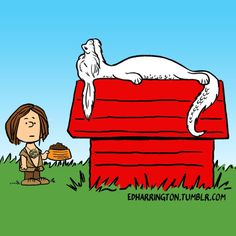 "A quick ""The NeverEnding Story/Peanuts"" drawing in between illustration projects."