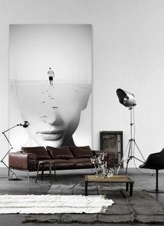 Un diseño vanguardista que combina fotografía y arte.   Se nos ocurre para un montaje fotográfico de moda o simplemente para generar ideas creativas en un estudio   #ALOHAdiseño