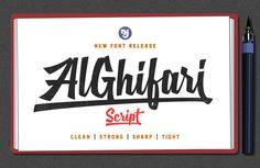 AlGhifari Script Free Font