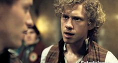I love Aaron and I love Enjolras. Hence my love for Aaronjolras. I can dig it. ;)