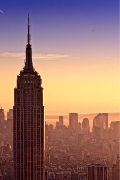 Empire State Building, Manhattan, NYC, New York   http://welove-newyork.tumblr.com/post/51177439253