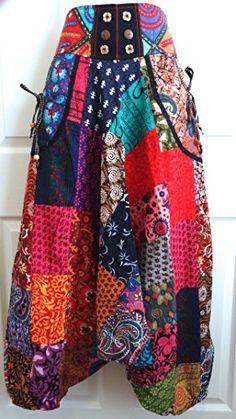 Harem Hippie Pants, Patchwork Aladin Style, Indian Cotton, One Size Fits S-XL null http://www.amazon.com/dp/B00NGSXSC0/ref=cm_sw_r_pi_dp_Hscoub07NBWP2