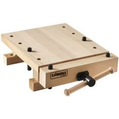 Sjobergs smart workstation Pro vise is portable, practical workplace. Can be easily added or attached with clamps to any Sjobergs workbench. This workstation Pro vise has a thick solid European beech top and is a great portable easy to car Learn Woodworking, Woodworking Patterns, Woodworking Workbench, Woodworking Furniture, Woodworking Crafts, Woodworking Basics, Wood Furniture, Popular Woodworking, Custom Woodworking