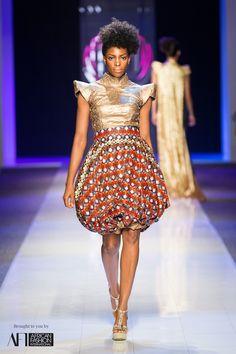 Nhlanhla Nciza Vintage at Mercedes-Benz Fashion Week Johannesburg