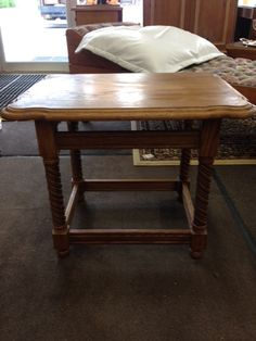 """This is a super #deal for anyone looking for a side table: $30!! 21""""x27"""" #owensound #homedecor #furniture #interiors"""