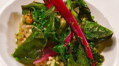Pärlkorn med mangold, stout och blåmusslor Seaweed Salad, Ethnic Recipes, Food, Essen, Meals, Yemek, Eten