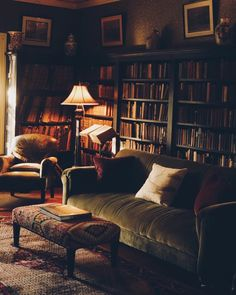 32 Trendy home library room curls Home Library Design, House Design, Couch Placement, Home Libraries, My New Room, Cozy House, My Dream Home, Dream Homes, Room Inspiration