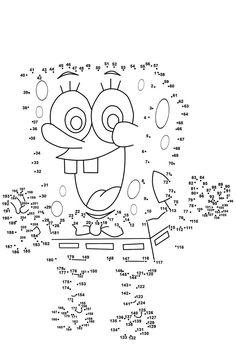 Worksheets For Kids, Kindergarten Worksheets, Printable Worksheets, Number Worksheets, Kindergarten Counting, Numbers Kindergarten, Free Printables, Free Printable Coloring Pages, Coloring Pages For Kids