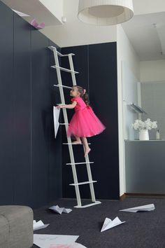 Latvian designer Arthur Analts created a step ladder called Led Zeppelin