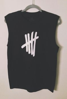 5 Seconds of Summer Tally Muscle Tee by ThePunkandReckless on Etsy