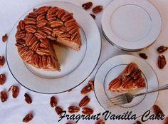 Raw Chocolate Pecan Pie Mousse Cake | Fragrant Vanilla Cake