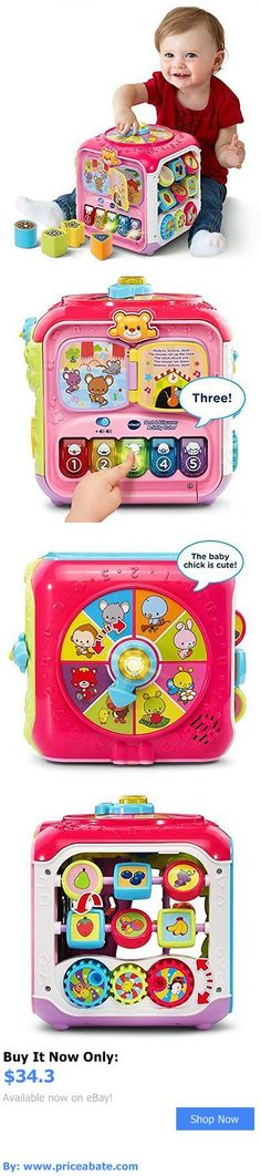 Baby: Vtech Sort And Discover Activity Cube, Pink Toddler Kids Play Toy New BUY IT NOW ONLY: $34.3 #priceabateBaby OR #priceabate