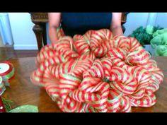 "How To Make A Deco Mesh Wreath "" Part 2"""