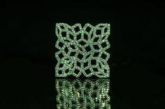 Mashrabiya, diamond embellished #fashion #design  #jewelry