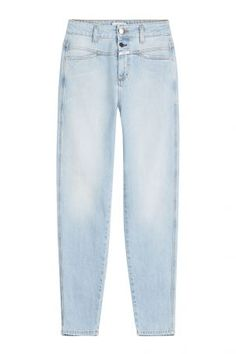 Closed Closed High-Waisted-Jeans Pedal Icon´85 – Blau