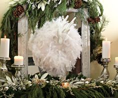 137 Best Christmas Feathers | Decor images | Christmas crafts ...