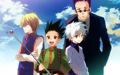 Kurapika Gon Killua Leorio Hunter X Hunter 2011 Anime HD Wallpaper m09.