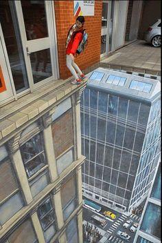 Amazing Reality 3D Street Art | #Information #Informative #Photography
