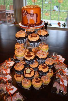 horse cupcakes | Horse cupcake tower 2 | Flickr - Photo Sharing!