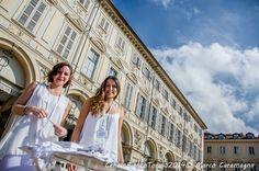 Cena in bianco Torino 2014, Piazza San Carlo