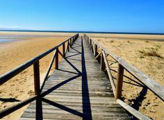 Costa de a Luz, Andalucia, Spain - towards the sea