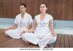 Find Attractive Couple White Sitting Lotus Pose stock images in HD and millions of other royalty-free stock photos, illustrations and vectors in the Shutterstock collection. Thousands of new, high-quality pictures added every day. Lotus Pose, Photo Editing, Royalty Free Stock Photos, Spa, White Dress, Poses, Couples, Health, Collection