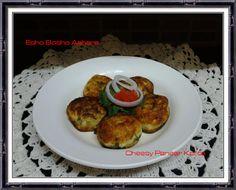 Cheesy Paneer Kofta Recipe   Snack Recipe ~ Esho Bosho Aahare