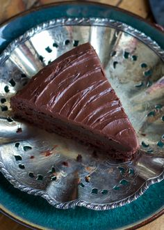This chocolate cake is a bit healthier compared to your average cake, thanks to Greek yogurt and whole grain flour! No one will even know!
