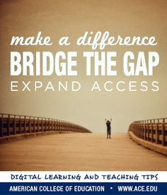 Because digital literacy is essential, low-income students face a greater risk of falling behind. How can educators help?  Click the pin to visit Network for Good to discover how you can increase access to technology, and learn more about digital literacy through the ACE Digital Learning and Teaching certificate.