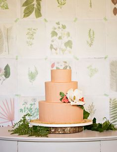 Emerald Botanical Beach Wedding Inspiration