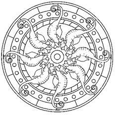 Image result for Spiritual Mandalas to color