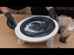 Resin Art cells - the easy way. - YouTube