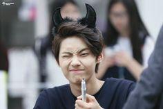 Wei he's being so cute Korean Boy Bands, Latest Pics, Kpop Boy, Olaf, Boy Groups, Jin, Rapper, Singer, Actors