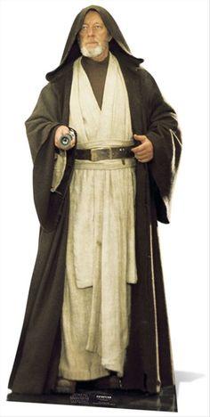Star Wars Pappaufsteller Obi-Wan Kenobi Hier bei www. Costume Star Wars, Jedi Costume, Disfraz Star Wars, Figurine Star Wars, Alec Guinness, Jedi Knight, Star Wars Wallpaper, Star Wars Party, A New Hope