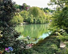Canoe sul Po (foto di ©artoblog) #fiumepo #torino #italy