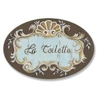 Stupell Industries Brown and Aqua Crest Top Powder Room Oval Bath Plaque Bathroom Posters, Bathroom Wall, Aqua Bathroom, Master Bathroom, Biscuit, Finger, Wood Plaques, Fashion Room, Cool Walls