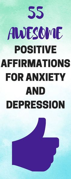 55 of my best positive affirmations for anxiety and depression you can start using right now! Here's my top 55 positive affirmations for anxiety and depression. These are part of the healthy mental habits that I personally adopt. Anxiety Tips, Anxiety Relief, Stress Relief, Quotes For Anxiety, Social Anxiety, Mantras For Anxiety, Life Coaching, Deep, Positive Thoughts