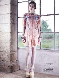 romantiche trasparenze: hannah noble by jacopo moschin for a anna magazine 6th june 2013 | visual optimism; fashion editorials, shows, campaigns & more!