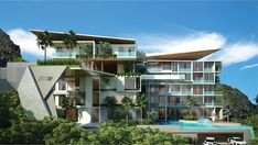 Phase 1 of Featuring glass bottomed pool on level. – The Emerald Ao Nang Condominiums Khao Lak Beach, Ao Nang Beach, Railay Beach, Glass Bottom Pool, Different Types Of Houses, Lamai Beach, Buying A Condo, Life Hacks Every Girl Should Know, Global Real Estate