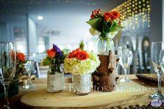 Centro de mesa rustico